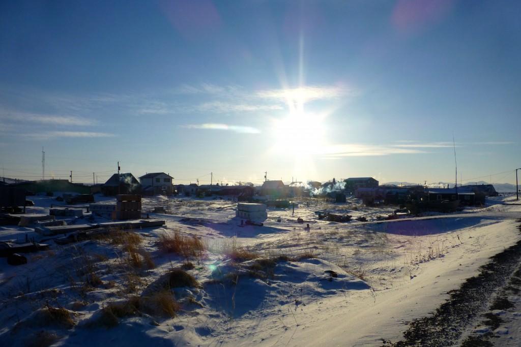 Das Wetter in Unalakleet ist traumhaft!
